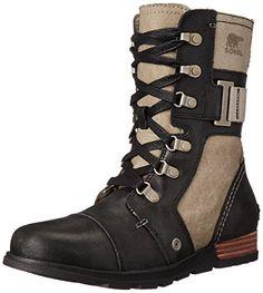 Sorel Women's Major Carly Boots, Wet Sand/Black, 6 B(M) U... https://smile.amazon.com/dp/B00Q7SQ39G/ref=cm_sw_r_pi_dp_x_9r-eybG7W0PJX