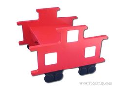 Train Caboose Step Stool by TotsOnly on Etsy