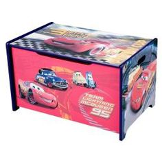 @Overstock - Get your child excited about putting away their favorite toys. The Disney Cars Toy Box is a colorful addition to a room's decor designed in the theme of Disney Cars.http://www.overstock.com/Home-Garden/Disney-Cars-Toy-Box/6677482/product.html?CID=214117 $52.99