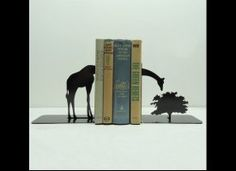 American Metal Company Produce Weird And Wonderful Book Ends - Gallery - The Huffington Post