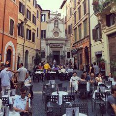 Piazza Santa Barbara dei Librari #rome #italy