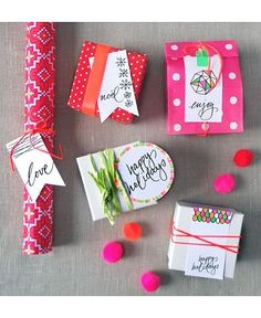 """Foto """"pinnata"""" dalla nostra lettrice Anna Springolo It's a wrap: Gorgeous gift wrapping ideas that are anything but ho-hum"""