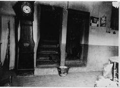 Detall de l' interior de la casa núm. 10 del carrer del Mar de Colera de Mar ( Girona). 1942. Autor desconegut. 27541F MMB Painting, Author, Painting Art, Paintings, Painted Canvas, Drawings