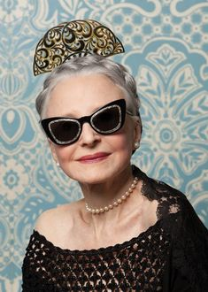 Karen-Walker-Eyewear-x-Advanced-Style-5 ~  Joyce Carpati -- simply beautiful! I am such a fan.