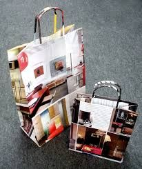 como hacer bolsas de papel con revistas - Buscar con Google