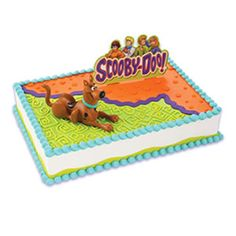 Scooby doo cupcake toppers print on white cardstock cut for Scooby doo cake template