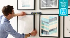 Learn How To Create The Absolute Best Gallery Wall With Will Taylor | Good Housekeeping TV