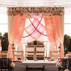 Mesmerize your guests with the charm of these engagement stage decorations ideas. Discover about the latest Engagement Stage Decoration Ideas with this post. Desi Wedding Decor, Wedding Hall Decorations, Wedding Stage Design, Wedding Mandap, Space Wedding, Wedding Venues, Banquet Decorations, Wedding Proposals, Wedding Table