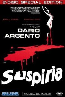 Suspiria (1977). Distinctive color schemes and stunning Art Deco sets make this horror film set in a ballet academy in the Black Forest memorable.