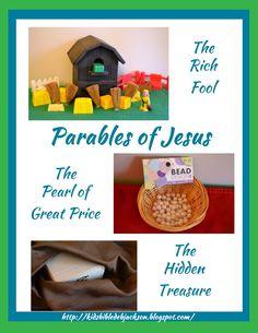 three parables of jesus