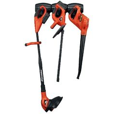 Black & Decker 18-Volt Cordless Electric Lawncare Center (CCC3000 ) - So easy to use. No gas, no oil, no maintenance. Lawn trimmer/edger, hedge trimmer (we use it to trim our ornamental grasses and perrenials) and leaf blower -- all in one.