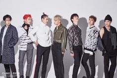 "[Star cast] of BtoB back with a new look ""NEW MEN"" behind jacket shoot! Naver Entertainment: TV"