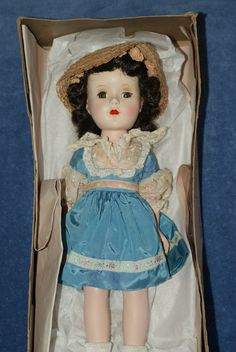 "Vintage 14"" All Original Sweet Sue Walker Hard Plastic Doll in Box 