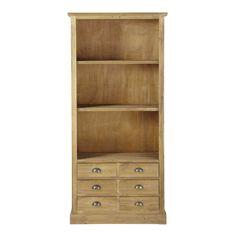 Bücherregal aus Holz, B 85cm  Périgord
