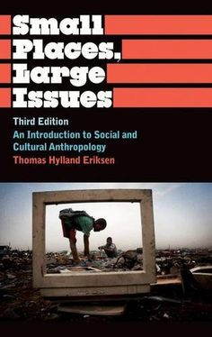 Small Places, Large Issues Third Edition: An Introduction to Social and Cultural Anthropology (Anthropology, Culture and Society) by Thomas Hylland Eriksen http://www.amazon.co.uk/dp/0745330495/ref=cm_sw_r_pi_dp_Ehsfxb0H115QN