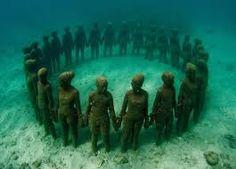 Resultado de imagen para underwater sculptures