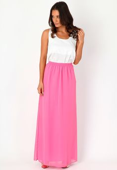 Danzie Sheer Maxi Skirt