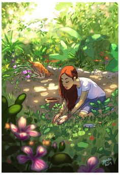 Yaoyao Ma Van As, cane, Yaoyao Ma Van As illustrazioni, Yaoyao Ma Van As illustration, Yaoyao Ma Van As living with a dog Art Anime Fille, Anime Art Girl, Art And Illustration, Alone Art, Art Mignon, Joy Of Living, Inspiration Art, Aesthetic Art, Oeuvre D'art