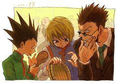 The rice is...gone!? Gon, Kurapika, Leorio - Hunter x Hunter
