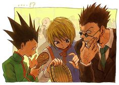 The rice is...gone!? Gon, Kurapika, Leorio - Hunter x Hunter