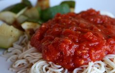 Five Minute Marinara Sauce ~ this sauce has forever simplified the way I make red sauce! This receives RAVE reviews from everyone who tastes it!