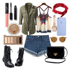 """""""Untitled #48"""" by gilda-golden on Polyvore featuring Oliver Peoples, Zara, Beats by Dr. Dre, ASOS, Chanel, NARS Cosmetics and Urban Decay"""
