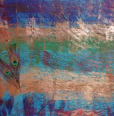"Saatchi Art Artist John Moyle; Painting, ""Peacock 2"" #art  CHECKOUT MY SAATCHIONLINE SHOP :)"