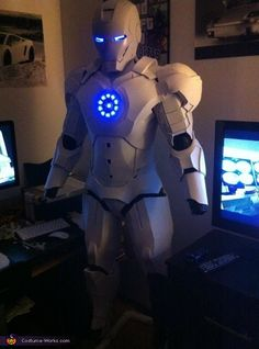 Homemade Iron Man Costume - 2013 Halloween Costume Contest