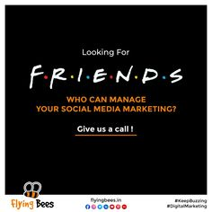If you are looking for a full-spectrum Digital Marketing agency for your Business, end your search here & now. At Flyingbees, we offer tailored Social Media Marketing services. for Businesses from across every niche, you can think of. Talk to us today for further information. #digitalmarketingagency #keepbuzzing #digitalmarketing #Socialmediamarketing #flyngbeeindia #flyingbeesuk