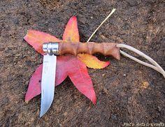 "Opinel knife (No. 8) Modified/custom handle. ""The Bushman"""
