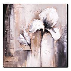 Peinture+à+l'huile+peinte+à+la+main+floral+1211-FL0009+–+EUR+€+57.74
