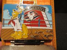 Disney Vacation Club 2014 Commemorative LE 2500 Pluto Castaway Cay Suitcase pin