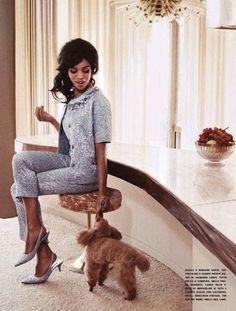 Kerry Washington, Vogue Italia.  That's not Josie but he'll do! lol