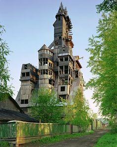 Sutyagin House, Archangelsk--great gpa's hometown
