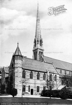 Plymouth, Catholic Cathedral 1889, from Francis Frith