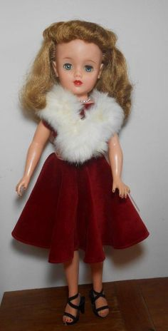 Vintage Ideal Miss Revlon Queen Of Diamonds VT-20 Doll
