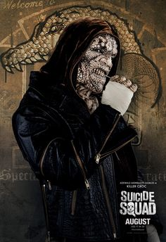 Suicide Squad - Adewale Akinnuoye-Agbaje as Killer Croc
