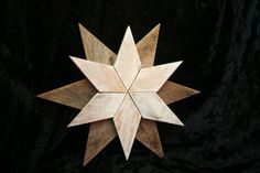 Rustic Wood Star by TheHiddenCardinal on Etsy