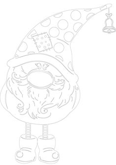 Inspiration Make-Up Art - Gif Life Colouring Pages, Coloring Sheets, Coloring Books, Christmas Doodles, Christmas Coloring Pages, Christmas Colors, Christmas Crafts, Christmas Ornaments, New Years Decorations