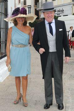 César Cadaval y su esposa
