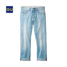 (GU)ボーイフレンドジーンズ - GU ジーユー