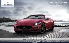 Maserati-- looks like a mid late 90's Chevy Camaro