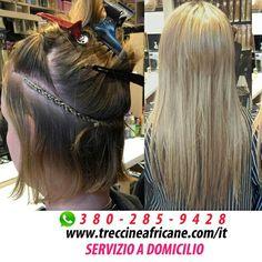 Extension cucite su capelli cortissimi