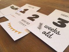 Digital Milestones Printable Milestones Print At Home Boy