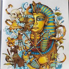 WEBSTA @ issa_bella03 - Imagimorphia#imagimorphia #kerbyrosanes #fabercastell #coloringforadults #sztukakolorowania #kolorowankadladoroslych #creativelycoloring #bayan_boyan #colorindolivrostop