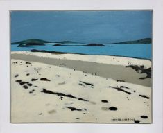 Original oil painting on canvas Inspired by a visit to Tresco Framed in a bespoke white wooden frame Image size 40cm x 50cm Total size including fr...