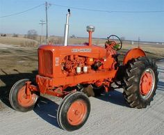 Restored AC Allis Chalmers Diesel Tractor for sale Antique Tractors, Vintage Tractors, Allis Chalmers Tractors, Old Farm Equipment, Tractors For Sale, Tractor Parts, Lifted Ford Trucks, International Harvester, Rubber Tires