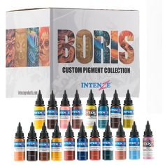 New Tattoo Supplies: Intenze Professio...  *** Check it out here!  ***  http://www.monstersteel.com/products/intenze-professional-tattoo-ink-boris-from-hungary-collection?utm_campaign=social_autopilot&utm_source=pin&utm_medium=pin