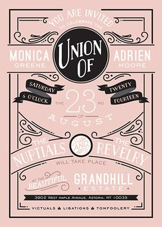 wedding invitations - Romantic Revelry by GeekInk Design
