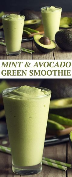 Mint and Avocado Green Smoothie -- Power up your day with this super green Shakeology recipe. // healthy recipes // breakfasts // snacks // smoothies // shakes // vegetables // nutrition // clean eating // healthy foods // beachbody // beachbody blog